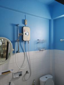 A bathroom at Bellmans Restaurant & Guesthouse