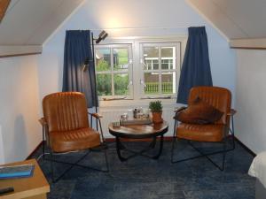 A seating area at De Stormvogel