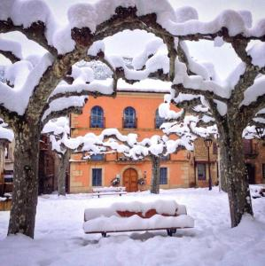 Camino Condal during the winter