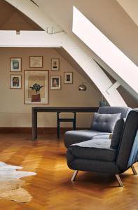A seating area at Prinsenhof