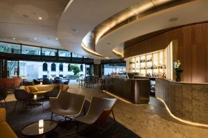 The lounge or bar area at The Westin Brisbane