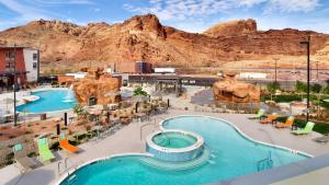 A view of the pool at SpringHill Suites by Marriott Moab or nearby