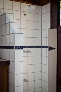A bathroom at Hotel Vista de Olas