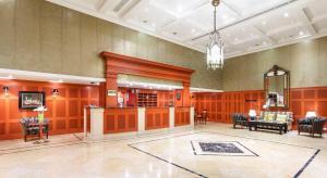 Vstupní hala nebo recepce v ubytování Dvorak Spa & Wellness