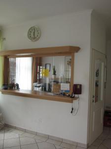 Küche/Küchenzeile in der Unterkunft Pension Elisabeth