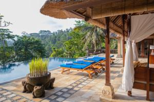 The swimming pool at or near Puri Wulandari - A Boutique Resort & Spa