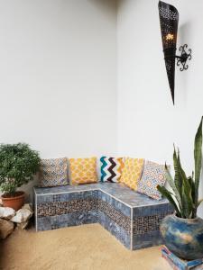 Zona de estar de Riad Masaya