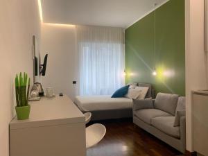 Area soggiorno di Cellamare Suite & Spa