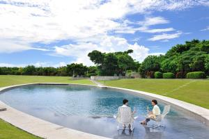 The swimming pool at or close to HOSHINOYA Taketomi Island