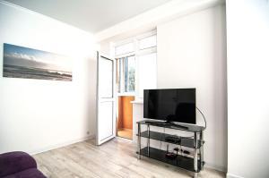 Телевизор и/или развлекательный центр в Апартаменты в Сочи