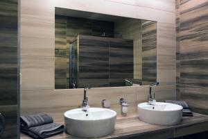 Koupelna v ubytování Ubytování Stračena