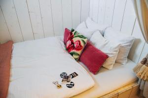 Un ou plusieurs lits dans un hébergement de l'établissement Cocomama