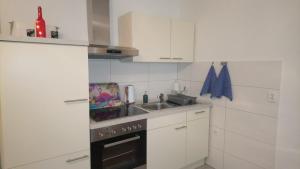 A kitchen or kitchenette at Altstadt