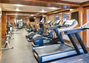 The fitness centre and/or fitness facilities at The Sebastian - Vail