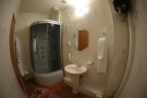 Ванная комната в Hotel Moneron