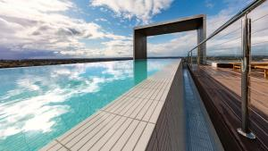 The swimming pool at or near Avani Melbourne Box Hill Residences