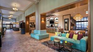 The lobby or reception area at The Notary Hotel Autograph Collection