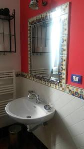 A bathroom at Villa Avenia