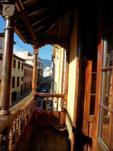 Un balcón o terraza de Hotel Rural Victoria