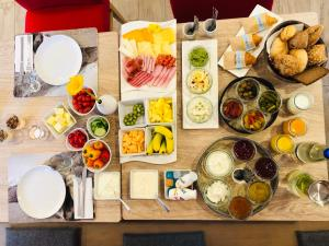 Breakfast options available to guests at Bayern Resort Hotel (Adults only)