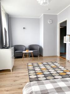 Część wypoczynkowa w obiekcie Apartament Kotwica