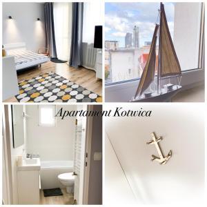 Łazienka w obiekcie Apartament Kotwica