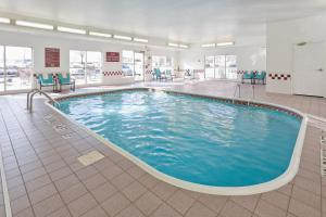 The swimming pool at or near Residence Inn Canton