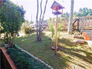 Um jardim em Chale dos Passaros