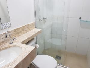 A bathroom at Pousada Remanso