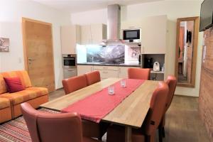 Küche/Küchenzeile in der Unterkunft Mountain-Apart Simonhof