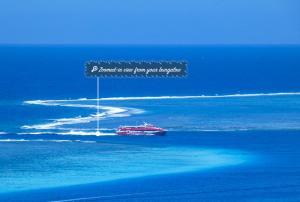 Uma vista aérea de Villa Dream Lagoon