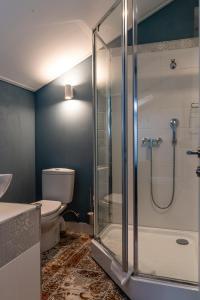 Ванная комната в Hotel Snegir