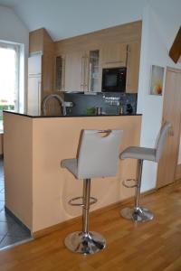 A kitchen or kitchenette at Eurode grenzenlos - Drei Länder in greifbarer Nähe