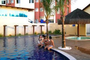 A piscina localizada em Acqua Bella Thermas Hotel ou nos arredores