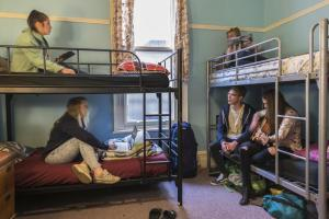 A bunk bed or bunk beds in a room at Lords Lodge