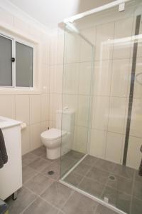 A bathroom at Manera Heights Apartments