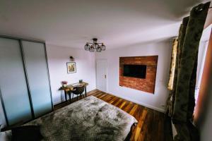 Postel nebo postele na pokoji v ubytování Apartament Barbara