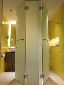A bathroom at Lagùn Hotel