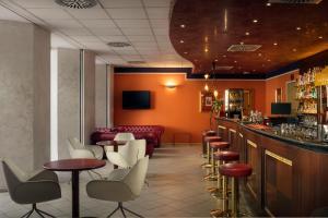 Лаундж или бар в Hotel Caesar Prague