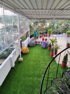 Banquet facilities at the hostel
