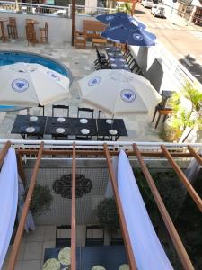 A view of the pool at Hotel Cianorte Diamond or nearby