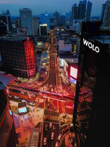 A bird's-eye view of WOLO Kuala Lumpur