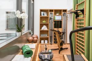 The fitness center and/or fitness facilities at Boutique Hotel am Stephansplatz