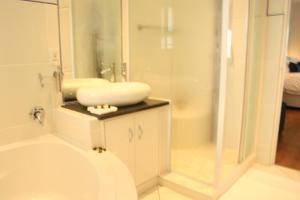 A bathroom at Ahoy Boutique Guest House