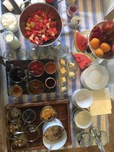 Frühstücksoptionen für Gäste der Unterkunft Hotel Tafelfreuden