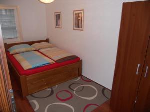 Posteľ alebo postele v izbe v ubytovaní Guba Apartment Maribor Center