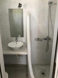 A bathroom at Livin Mykonos Hotel