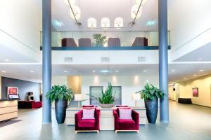 Lobby/Rezeption in der Unterkunft Welcome Hotel Paderborn