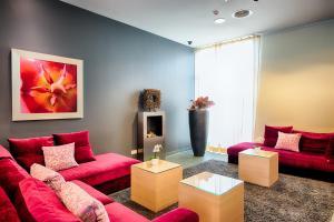 Ein Sitzbereich in der Unterkunft Welcome Hotel Paderborn