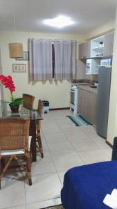 A cozinha ou cozinha compacta de Solar Pipa Praia Flats